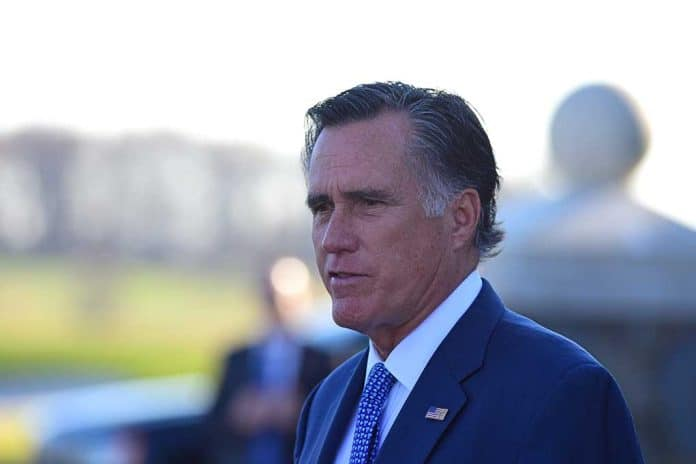 Mitt Romney Caves to Democrat Pressure Over January 6th Commission