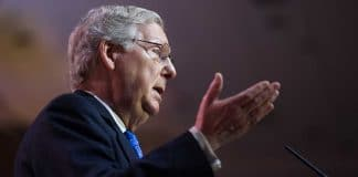 """Mitch McConnell Says Subpoena Request Is a """"Power Grab"""""""