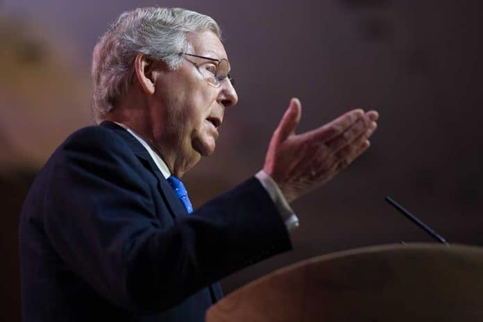 Mitch McConnell Says Subpoena Request Is a