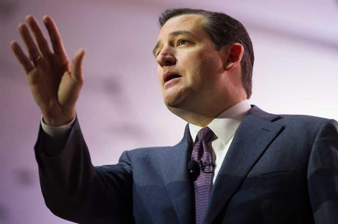 Ted Cruz Announces Plan to Ban COVID Databases
