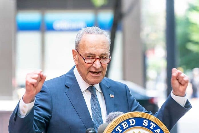 Chuck Schumer Caught Claiming Climate Change Will Get Worse Unless His Bill Is Passed